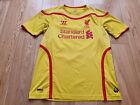 Mens Warrior Liverpool Away football shirt 2014 - 2015 Size M
