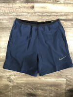 Nike Tech Pack Obsidian PRO FLEX REP TRAINING SHORTS CU4991-451 Mens Size M