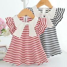 Sleeveless Big Bow Cute Multi colour Summer New Girl Dress