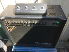 Randall RG50TC 50w Valve/Tube Guitar Amplifier REDUCED!!
