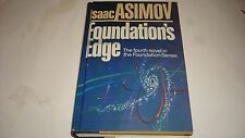 Foundations Edge Isaac Asimov First Edition1982 DJ Excellent