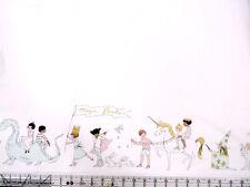 Michael Miller Sarah Jane Magic Magical Parade White Metallic Fabric