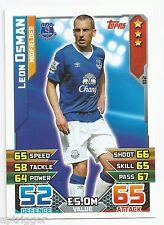2015 / 2016 EPL Match Attax Base Card (102) Leon OSMAN Everton