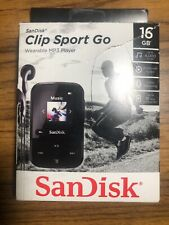 SANDISK Wearable Music Audiobook Podcast FM Radio Stopwatch Sport MP3 Player