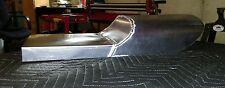 CUSTOM CAFE RACER SEAT PAN. Aluminum .Made in USA