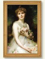 Victorian Trading Co Jeune Femme Adolphe Etienne Piot Lady Portrait Print