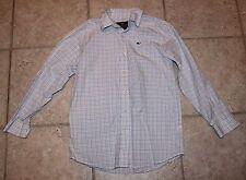 Vineyard Vines Boys Medium 10/12 Long Sleeve Button Front Whale Shirt
