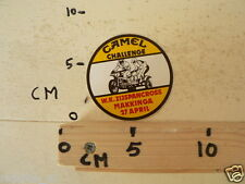 STICKER,DECAL CAMEL CHALLENGE WK ZIJSPANCROSS MAKKINGA 27APRIL MX GP MOTORCROSS