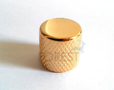 Fender Telecaster style Knurled Push-On metal Knob Gold