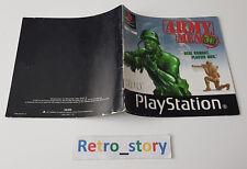 Sony Playstation PS1 - Army Men 3D - Notice / Instruction Manual