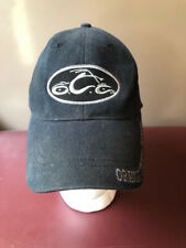 Orange County Choppers Black Baseball Hat Cap-Stretch Fit - Very Good Condtion