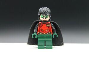 Lego Robin Dark Green legs black cape minifigure Batman genuine 76034