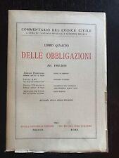 DELLE OBBLIGAZIONI Art. 1992-2059 (commentario codice civile) libro diritto
