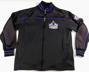 LOS ANGELES KINGS NHL Majestic Exclusive Club Collection Hockey Jacket Mens M