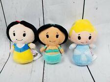 Lot of 3 Disney Princess Hallmark Itty Bittys Snow White, Jasmine, Cinderella