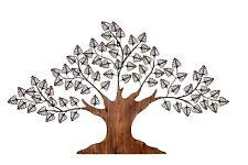 """Wanddeko """"Baum"""" Metall/Holz Wandbild Wandschmuck Wanddekoration Bild Bilder"""