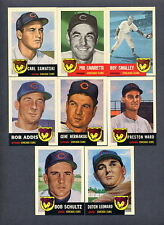 1953 Topps Baseball Reprint 1991 Archives Chicago Cubs TEAM SET
