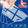 3Pcs For iPhone 12 Pro Max 11 Pro Max Full Screen Protector Film Tempered Glass