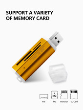 Memory Card Multi All in 1 Reader Adapter  Micro SD USB 2.0 M2 MS SD Card Mac OS