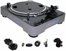 STANTON T62B DIRECT DRIVE TURNTABLE+NEEDLE T.62 B T.62B