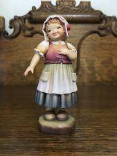 Anri Ferrandiz -Wood Carved Figurine - Sweet & Shy - 1994 Club Figurine
