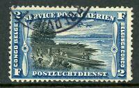 Belgian Congo 1920 Scott #C3 Airmail Nice Cancel Y69