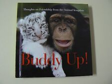 Hallmark Gift Book BUDDY UP Sweet Animal Photos Friendship Quotes NEW Great Gift