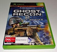 Ghost Recon 2 Summit Strike Xbox Original PAL *Complete*