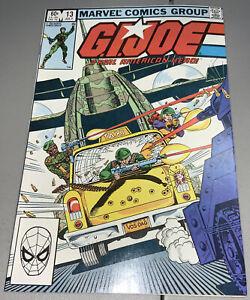 GI Joe #13 Marvel 1983 1st Appearance App Torpedo 2nd Destro