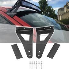 For 04-20 Ford F150 52 inch Curved LED Light Bar Upper Roof Mount Bracket Kit