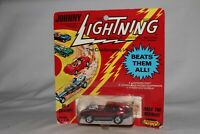 JOHNNY LIGHTNING REDLINE ERA JUMPIN' JAG, METALLIC RED, EXCELLENT, BOXED