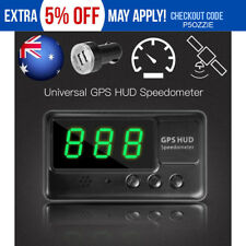 2018 Universal GPS HUD Digital Head Up Display Car Speeding Warning Plug&Play AU