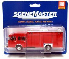 HO Scale Walthers SceneMaster 949-13802 Hazardous Materials Fire Truck