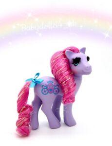 ⭐️ My Little Pony ⭐️ G1 Vintage Eyelash Princess Royal Purple Beautiful!