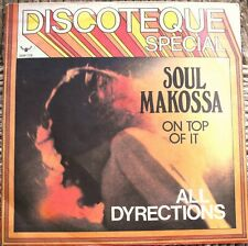 "All Dyrections Soul Makossa / On top of it  Italia 1973 45 giri / 7"" Promo"