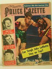 1950 National Police Gazette Magazine: Jake LaMotta vs Ray Robinson/Joe McCarthy