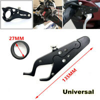 Universal Motorcycle Cruise Control CNC Throttle Lock Assist Set Handlebar Parts