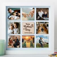 Personalised Mothers Day Gifts Wooden Photo Frame Anniversary Wedding Fathers