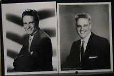 "2 VINTAGE 8""X10"" ORIGINAL PHOTO MGM JOHN ERICSON STUDIO PORTRAIT MOVIE STAR  (C"