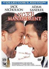Anger Management Adam Sandler Jack Nicholson Region 4 DVD VGC
