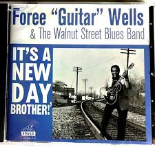 "BLUES CD: FOREE ""GUITAR"" WELLS, Sun & Excello guitarist, Louisville, Kentucky"
