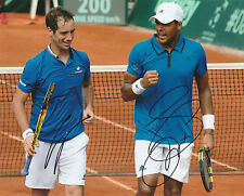 RICHARD GASQUET SIGNED AUTO'D 8x10 PHOTO POSTER TENNIS TOUR JO-WILFRIED TSONGA