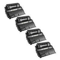 4 Pack Q5942X 42X High Yield Black Printer Laser Toner Cartridge for HP