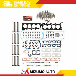 Head Gasket Set Head Bolts Lifters Fit 03-04 Ford Mustang 4.6 32-Valve VIN R