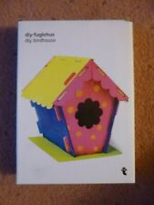 DIY Wooded Bird House Craft Garden Decoration Wildlife