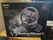 V3 Racing Wheel and Pedal for PlayStation PS1 PS2 Foot InterAct