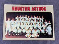 A5-70 BASEBALL CARD - HOUSTON ASTROS TEAM CARD - 1970 TOPPS - CARD #448