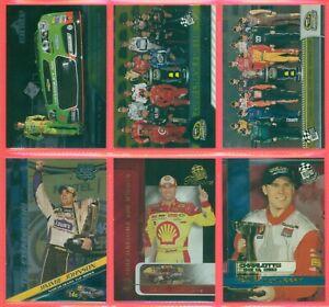 """Lot Of 6) Press Pass & High Gear """"0"""" Cards 2003 -2013 Beckett $65.00"""