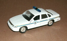 1/43 Scale 1994 Ford Crown Vic Police Interceptor Diecast N. Kingston RI Cruiser