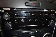 OEM RADIO 2006 MAZDA 6 TUNER AND RECEIVER AM/FM/6-CD 7 SPEAKERS ID GR6G66DSX
